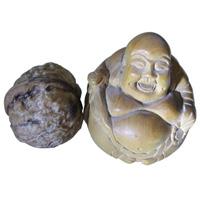 黄扬木微(园)雕--弥勒像