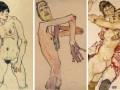 """席勒的""""激进的裸体画""""将在伦敦展出"""