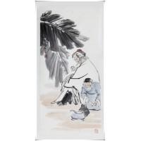 茶圣陆羽 名人国画