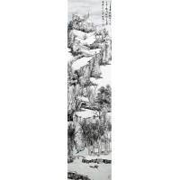燕山雪霁 名人国画