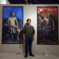 贵州青年油画家廖江华