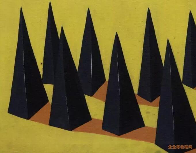 另一位雕塑艺术家贾晓鸥的作品
