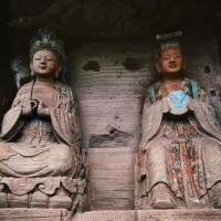 四川安岳古佛造像以10万计,没理由不火