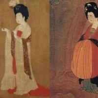 辽宁省博物馆的国宝《簪花仕女图》