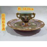 珐琅彩茶盏