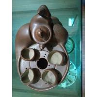 紫砂田螺茶具